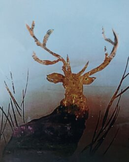 Stag in the Morning Dew | Steamy Windows Art